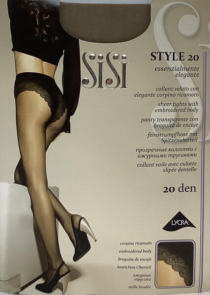 SiSi zeķbikses Style 20