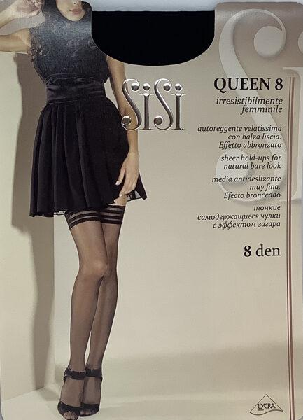 SiSi zeķes Queen 8