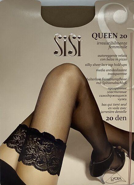 SiSi zeķes Queen 20
