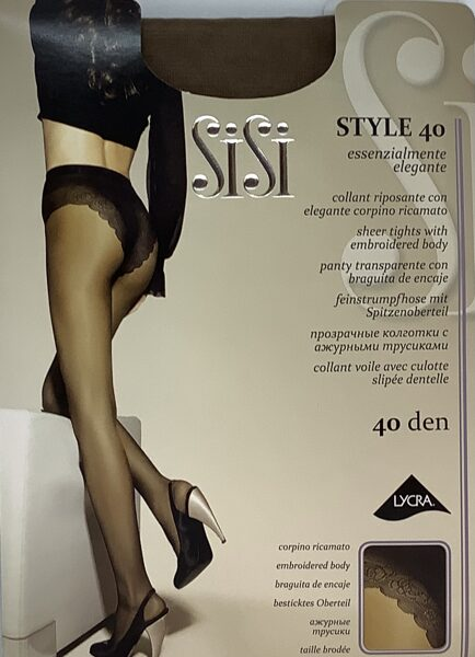 SiSi zeķbikses Style 40