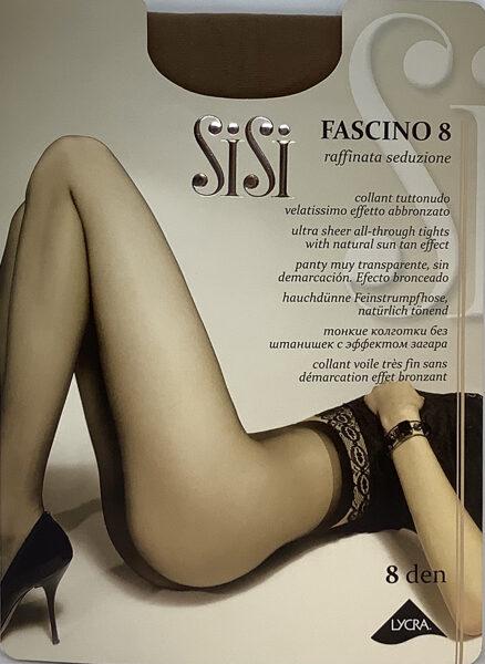 SiSi zeķbikses Fascino 8